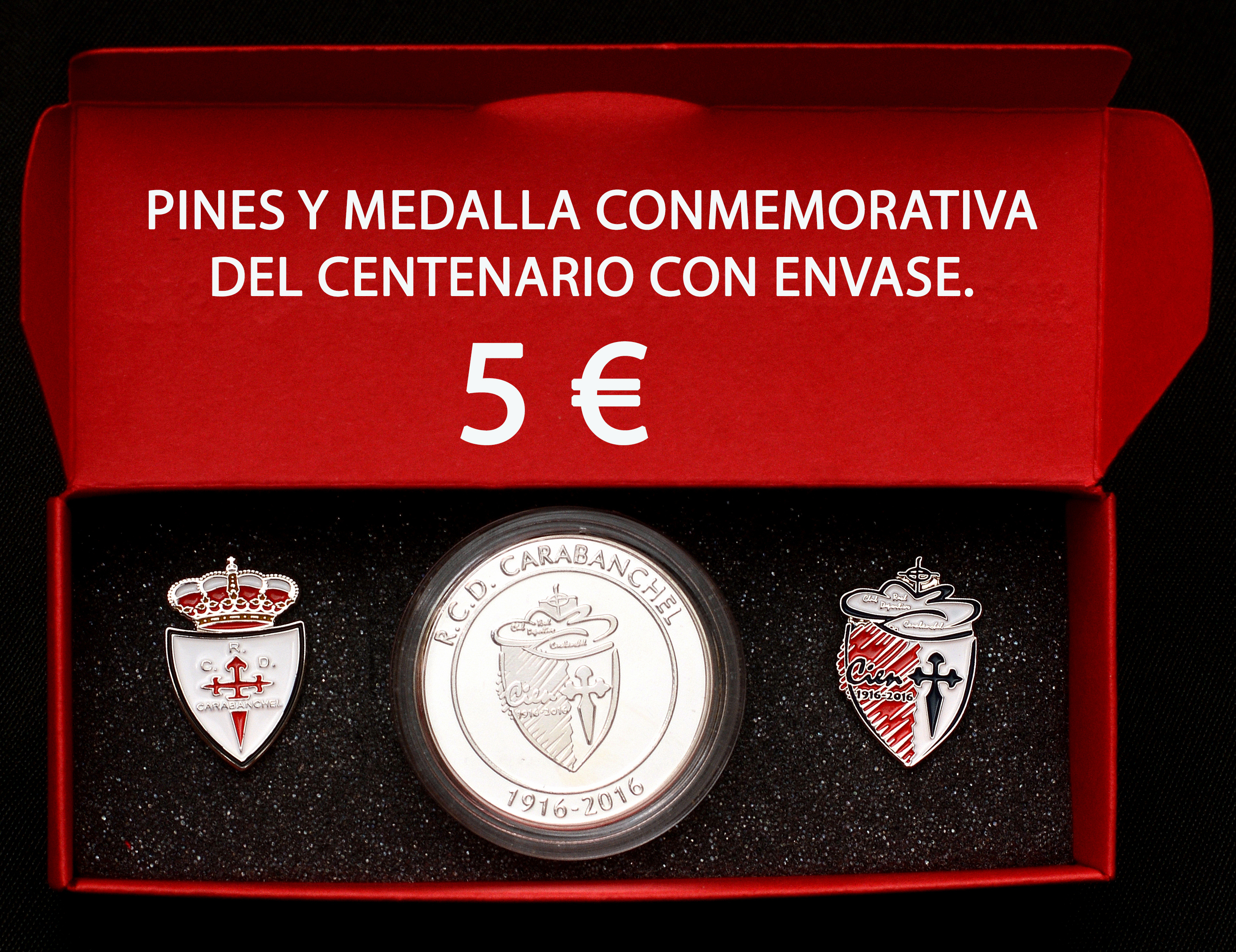 PACK PINES Y MONEDA CENTENARIO