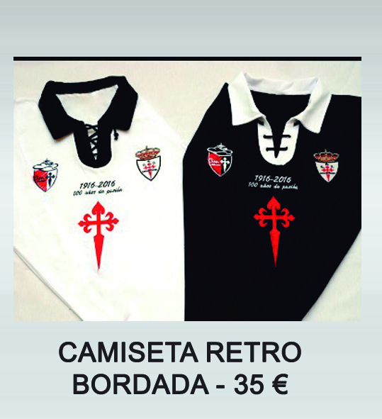 camiseta retro bordada